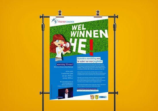 Posters en Flyers voor Hockey vereniging DES